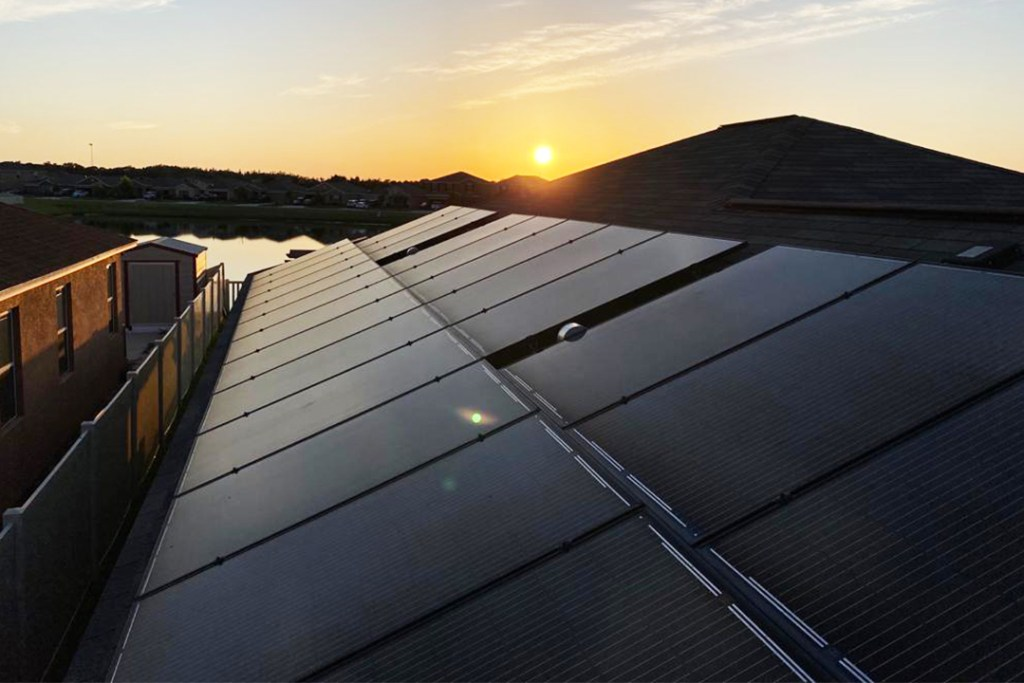 Home with Solar in Florida
