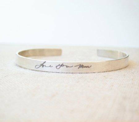 bracciale con scritta personalizzata