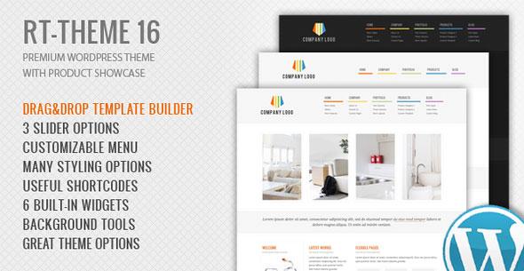 RT-Theme 16 v2.5.4 - Corporate WordPress Theme