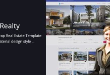 Lux Realty - Real Estate, Property Material Design v1.0
