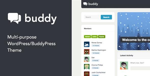 Buddy - Multi-purpose WordPress & BuddyPress Theme v2.15.1