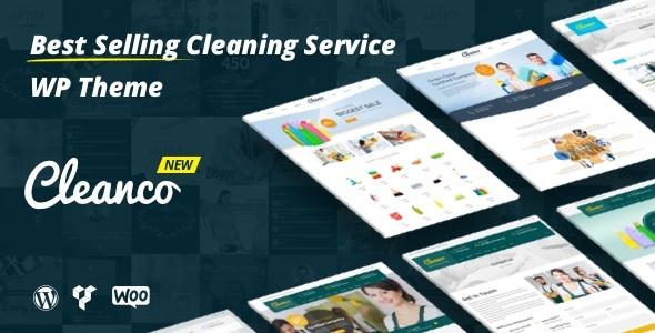Cleanco - Cleaning Company WordPress Theme v2.0.4