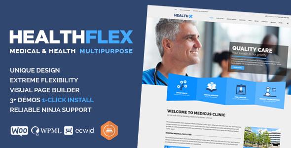 HEALTHFLEX – Medical Health WordPress Theme v1.5.7