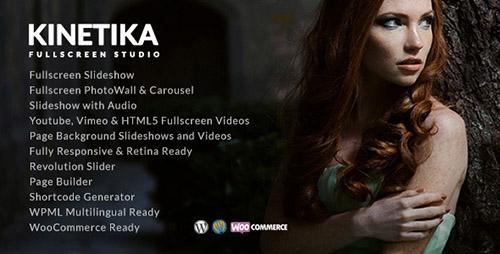 Kinetika v3.3 - Fullscreen Photography Theme