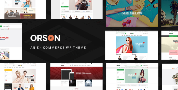 Orson v2.4 – Innovative Ecommerce WordPress Theme for Online Stores