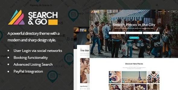 Search & Go - Modern & Smart Directory Theme v1.9.1