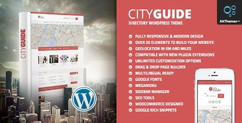 City Guide v3.22 - Listing Directory WordPress Theme