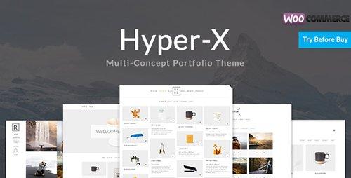HyperX - Portfolio for Freelancers & Agencies v4.7.6