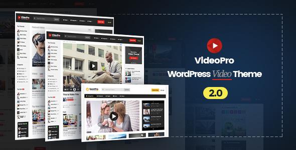 VideoPro – Video WordPress Theme v2.0.8