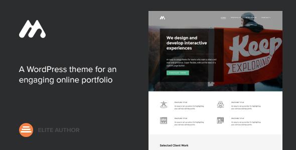 Meth v2.0.1 - A Minimal One Page Portfolio Theme
