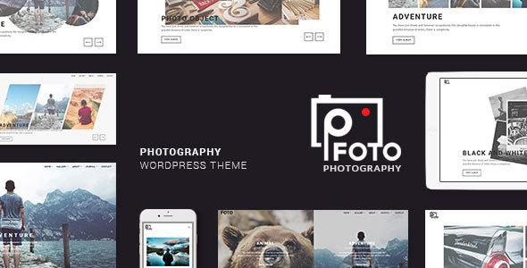Foto v1.5 - Photography WordPress Themes for Photographers