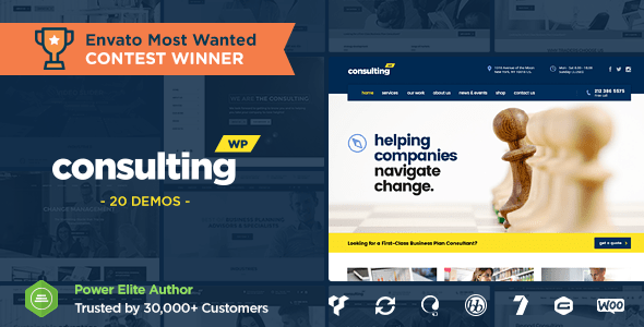 Consulting - Business, Finance WordPress Theme v4.0.2