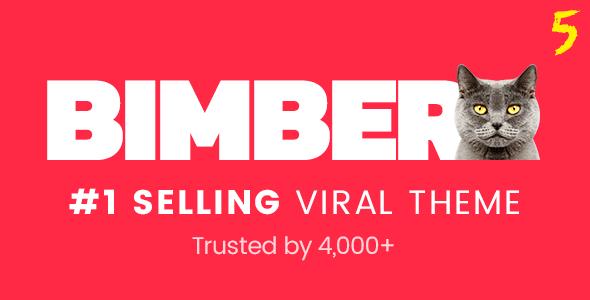 Bimber v5.3.2 - Viral & Buzz WordPress Theme