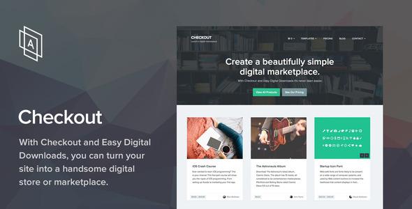 Checkout v2.0.9 - WordPress eCommerce Theme