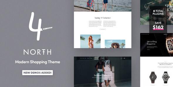 North - Unique E-Commerce Theme v4.1.4