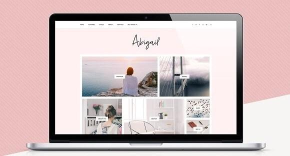 Abigail v1.1.0 – Responsive Blogger Template