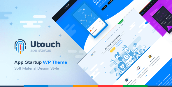 Utouch v2.1.1 - Startup Business and Digital Technology WordPress Theme