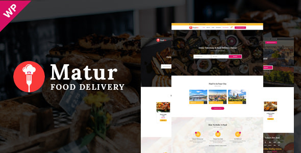 Matur v1.3 - Food Delivery & Ordering WordPress Theme