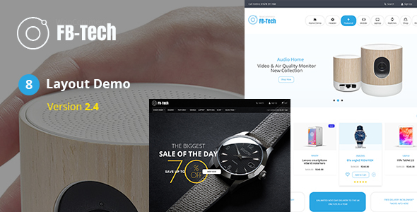 FB-Tech v2.4 - Digital RTL WooCommerce Theme