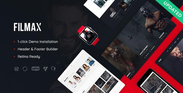 Filmax v1.0 - Movie Magazine WordPress Theme