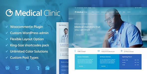 Medical Clinic v1.1.4 - Health & Doctor Medical Theme