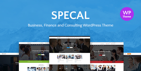 Specal v1.3 - Financial, Consulting WordPress Theme