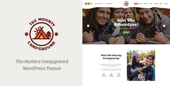 The Mounty v1.1 - Campground & Camping WordPress Theme