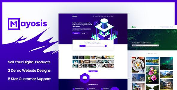 Mayosis v2.5.0 - Digital Marketplace WordPress Theme