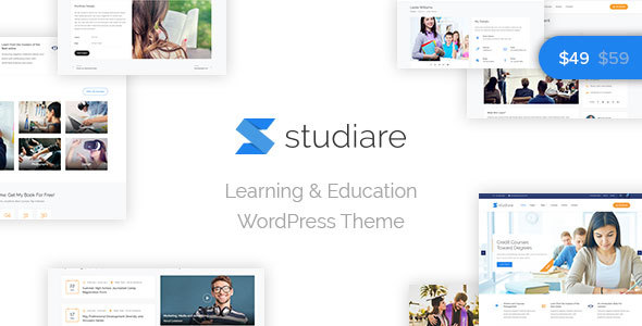 Studiare v1.0 - Education WordPress Theme for University