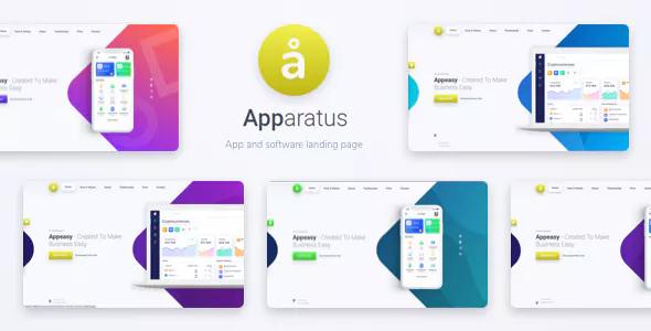 Apparatus v1.3 - A Multi-Purpose One-Page Landing Theme
