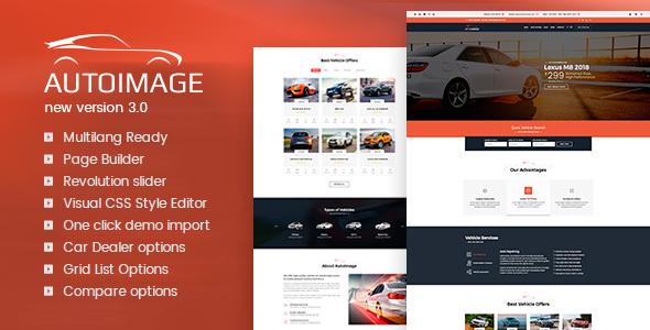Auto Image v3.4.5 - WordPress Car Dealer theme