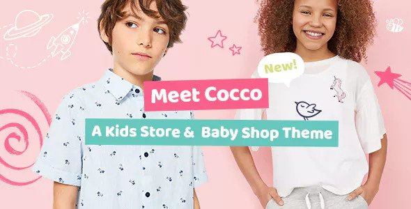 Cocco v1.1.1 - Kids Store and Baby Shop Theme