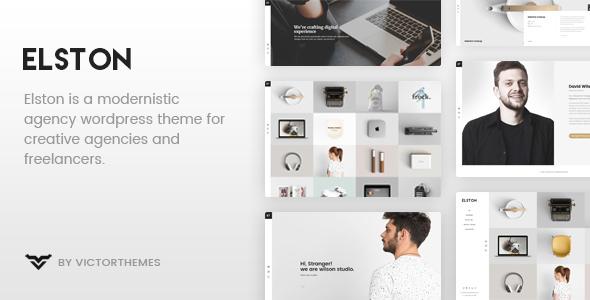 Elston v1.7 - Portfolio for Freelancers & Agencies