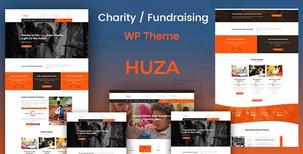 Huza v1.4 - Charity/Fundraising Responsive Theme