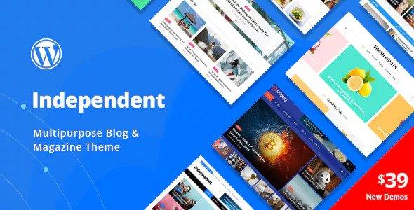 Independent v1.0.4 - Multipurpose Blog & Magazine Theme