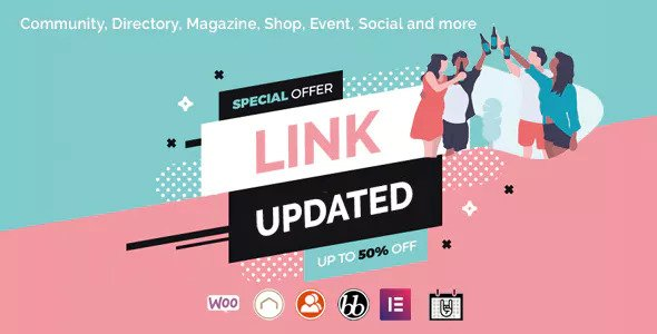 Lynk v2.0.2 - Social Networking and Community WordPress Theme