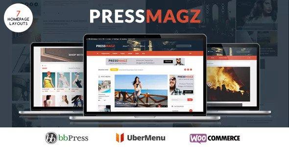 PresssMagz v1.0.1 - Editorial News & Magazine Theme