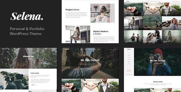 Selena v1.0.3 - Multipurpose WordPress Theme