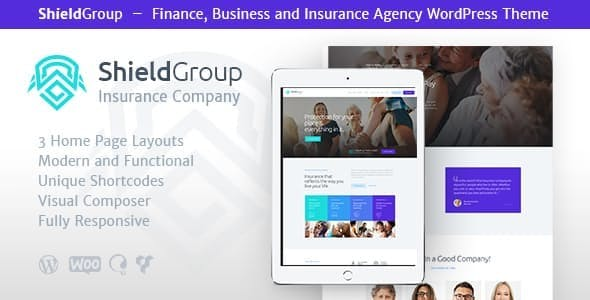 ShieldGroup v1.1.1 - An Insurance & Finance WordPress Theme