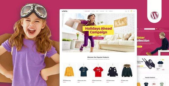 Uneno v1.0.4 - Kids Clothing & Toys Store WooCommerce Theme
