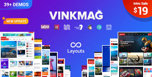Vinkmag v1.6.1 - Multi-concept Creative Newspaper