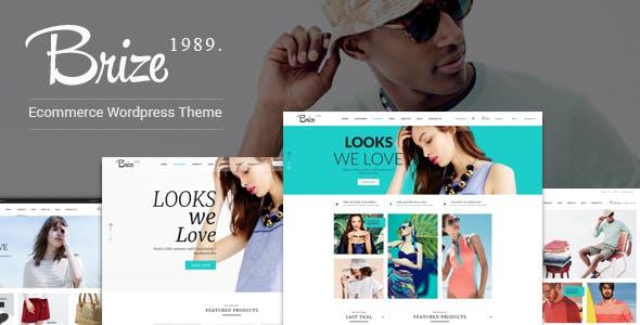 Brize v1.3.1 - Responsive WooCommerce Fashion Theme