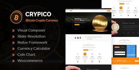 bitcoin wordpress tema