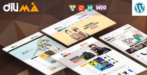 Dilima v1.3 - Mega Store Responsive WooCommerce Theme