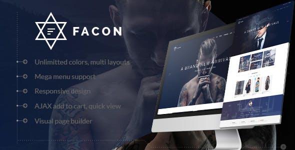 Facon v1.2 - Fashion Responsive WordPress Theme