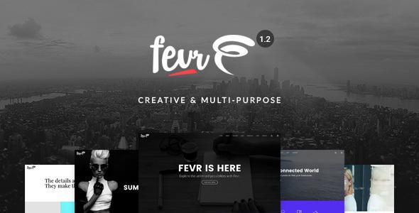 Fevr v1.2.9.7 - Creative MultiPurpose Theme