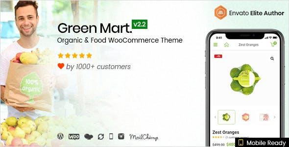 GreenMart v2.2.4 - Organic & Food WooCommerce Theme