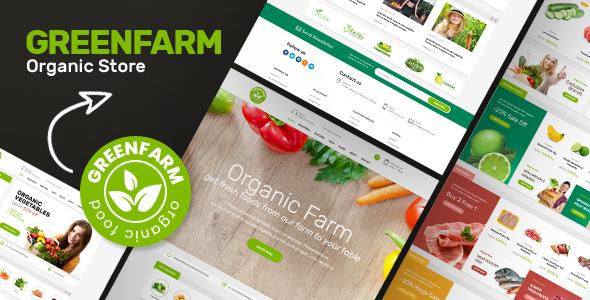 Greenfarm v1.0.6 - Organic Theme for WooCommerce