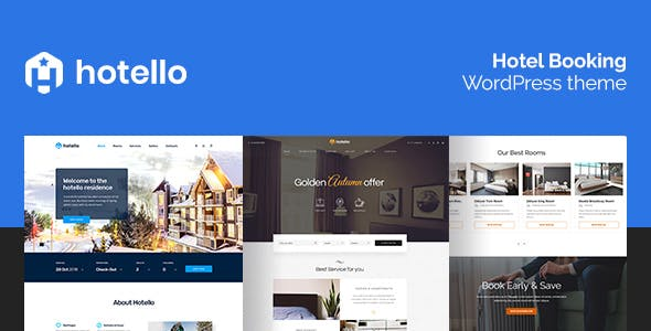 Hotello v1.2.6 - Hotel Booking WordPress Theme