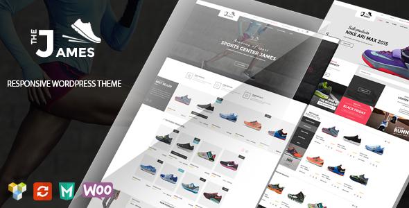 James v1.5.1 - Responsive WooCommerce Shoes Theme